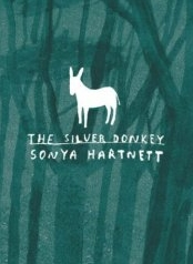 Walker Books Ltd. copy of 'The Silver Donkey' with cover art by Laura Carlin